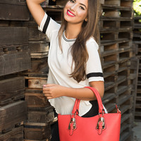 You are Bolder Than You Think Tote Bag in Ravishing Ruby