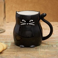 Black Cat Boxed Mug