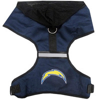 San Diego Chargers Pet Harness MD