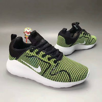 """""""NIKE"""" Fashion Casual Knit Fly Line Olympic Men Sneakers Running Shoes"""