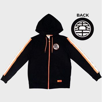 Dragon Ball Z Goku Zip-Up Hoodie