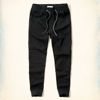 Hollister Pull-on Terry Jogger Pants