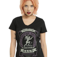 Supernatural Winchester Brothers Salt Girls T-Shirt