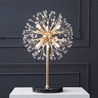 Table Lamp Floor Lamp Marble Base With Starfish Look