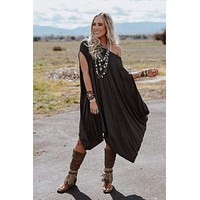 The Wren Tunic - Charcoal