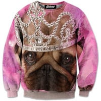 Princess Pug Sweatshirt