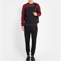 Marc by Marc Jacobs - Double-Faced Cotton-Blend Jersey Sweater | MR PORTER