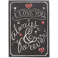 Love You Forever Wall Decor