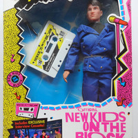Vintage - NEW Deadstock - NKOTB - Boy Band - New Kids on the Block Jonathan Knight Collectible Doll 1990