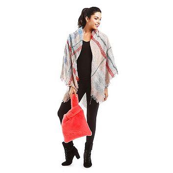 Faux Fur Slouchy Tote Bag (Click For More Colors)