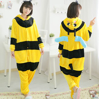 Yellow and Black Onesuits Bee Cosplay Costumes