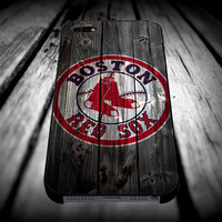 Boston Red Sox Logo 2 for iPhone 4/4s/5/5s/5c/6/6 Plus Case, Samsung Galaxy S3/S4/S5/Note 3/4 Case, iPod 4/5 Case, HtC One M7 M8 and Nexus Case ***