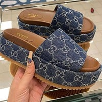 GG Fashion Casual Thick Soled Sandals Shose