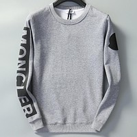Boys & Men Moncler Casual Edgy Top Sweater