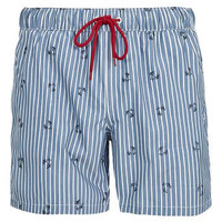 Stripe Motif Swim Shorts - Men's Shorts - Clothing