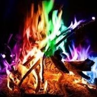 Mystical Fire Campfire Fireplace Colorant Packets 12 Pack !!!! Bonus Bug Bracelet with Every 12 Pk !!!!
