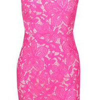 Pink Fushia Bomb Dress