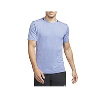 Nike Men's TechKnit Wild Run Running Top Cerulean