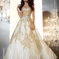 Prom Dresses 2014 - Panoply 14653 Lace Ball Gown