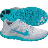 Nike Women's Free 4.0 Running Shoe - Grey/Turquoise | DICK'S Sporting Goods