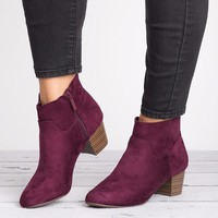 Seattle Faux Suede Boots