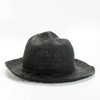 UO Hand-Crushed Fedora