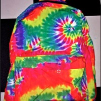 SWEET LORD O'MIGHTY! TIEDYE BACKPACK