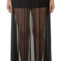 Brazilian Sheer Long Skirt
