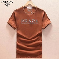 Prada Fashion Casual Shirt Top Tee-5