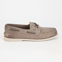 Sperry Authentic Original Mens Boat Shoes Gray  In Sizes