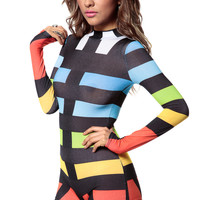 Color Tastic Fitted Romper