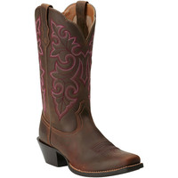 10014172 Ariat Women's Round Up Western Boots from Bootbay, Internet's Best Selection of Work, Outdoor, Western Boots and Shoes.