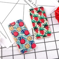 Cute Summer Strawberry fruits Pattern Phone Case