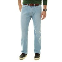 Relaxed Fit Light Blue Wash Denim Jeans