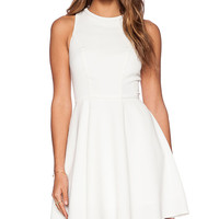 Minty Meets Munt Instant Crush Dress in White