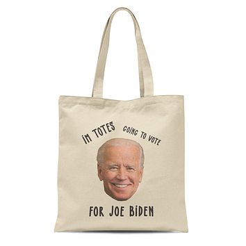 Function - Joe Biden I'm Totes Going To Vote For Joe 12 oz Heavy Canvas Cotton Tote Bag