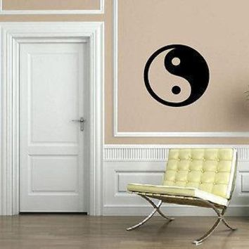 Yin Yang Philosophy Circle Male Female Wall Decor Mural Vinyl Art Sticker Unique Gift M604