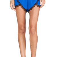 Lovers + Friends Young Romance Short in Blue
