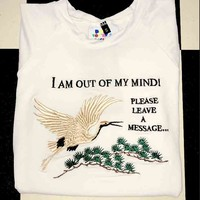 SWEET LORD O'MIGHTY! OUT OF MY MIND CROP TEE