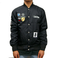 Club Foreign German Race Jacket In Black