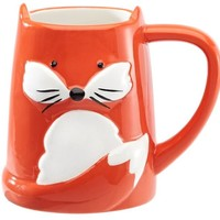 Fox Mug in Gift Box, 16 oz.
