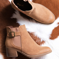Philly Ankle Boot, Camel