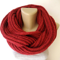 christmas gifts , infinity scarf, women, men scarf, winter accessories, knitted scarves, holiday gifts, clothing