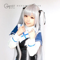 Absolute Duo Julie Sigtuna Cosplay Costume Party Hair Wig Send Tire+Free Wig Cap