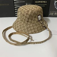 GUCCI GG Reversible bucket hat