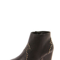 Melanie Western Style Ankle Boots