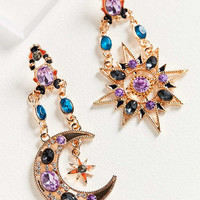 ZHUU Crystal Celestial Statement Earring | Urban Outfitters
