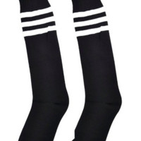 Black Tube Socks