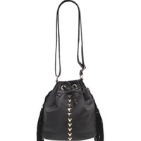 With Love From CA Fringe Metal Bucket Bag at PacSun.com