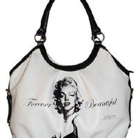 BRAND NEW LICENSED FOREVER BEAUTIFUL HANDBAG MARILYN MONROE